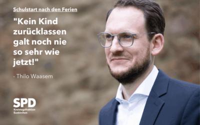 """""""Nachsitzen für die Landesregierung – Ferien für den Neustart nutzen"""""""