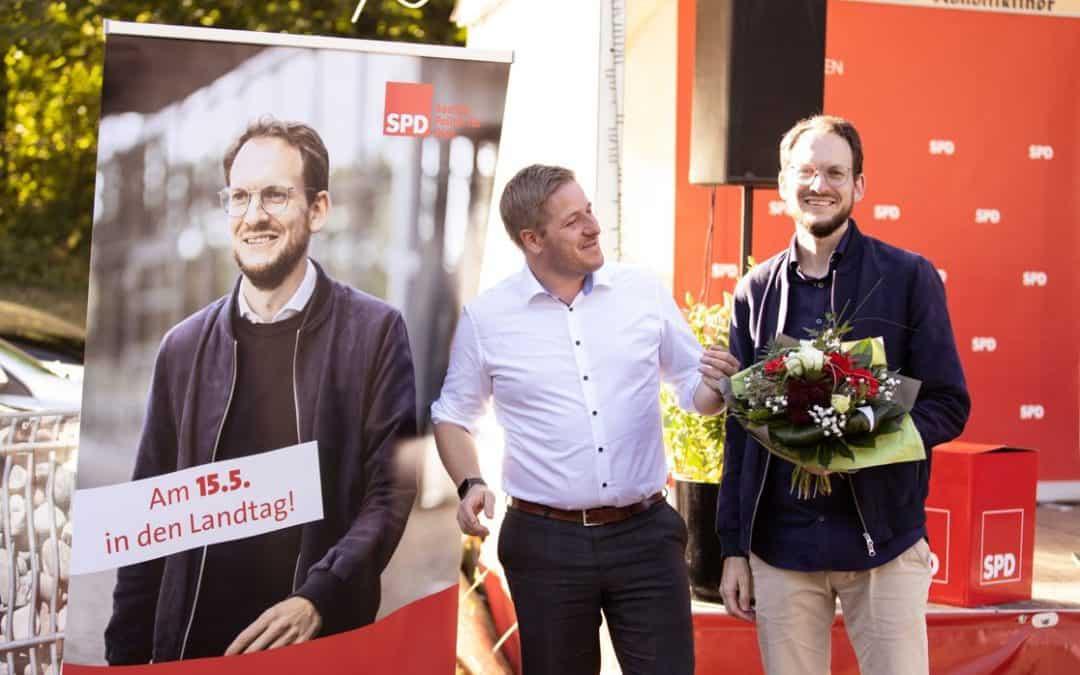 SPD-Kreisparteitag wählt Thilo Waasem zum neuen SPD-Kreisvorsitzenden und Landtagskandidaten